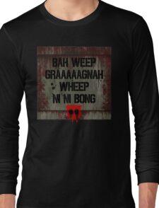 Universal Greeting Long Sleeve T-Shirt