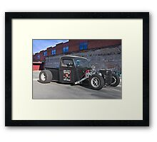 Sin City Rat Rod Framed Print