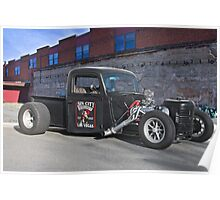 Sin City Rat Rod Poster