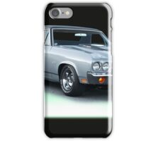 1971 Chevrolet El Camino SS iPhone Case/Skin