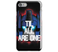 Til All Are One iPhone Case/Skin