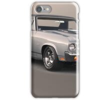1971 Chevrolet El Camino SS 'Cowl Induction' iPhone Case/Skin