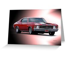 1971 Chevelle SS454  Greeting Card