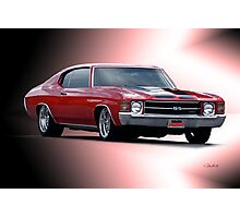 1971 Chevelle SS454  Photographic Print