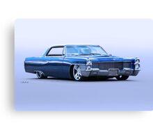 1965 Cadillac Custom Coupe DeVille Canvas Print