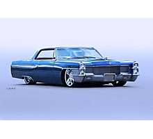 1965 Cadillac Custom Coupe DeVille Photographic Print