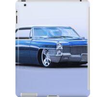 1965 Cadillac Custom Coupe DeVille iPad Case/Skin