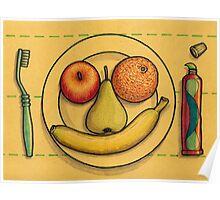 Smiling Dish Poster