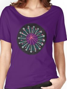 blooms amethyst Women's Relaxed Fit T-Shirt