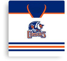 Bakersfield Condors Home Jersey Canvas Print