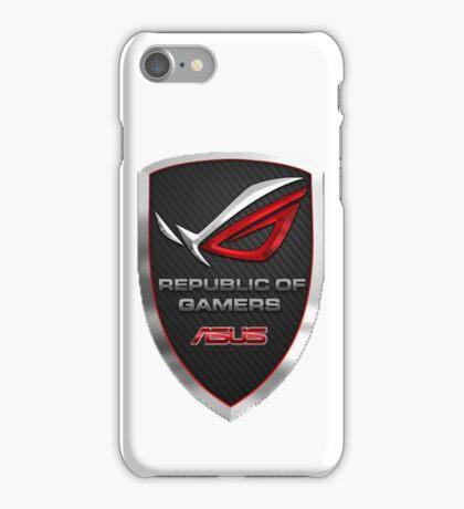 Republic of Gamers iPhone Case/Skin