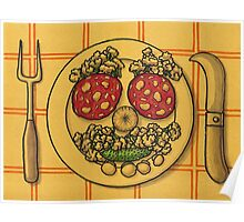 Countryside appetizer placemat Poster