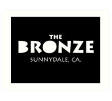 The Bronze – Buffy the Vampire Slayer, Sunnydale Art Print