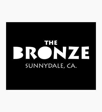 The Bronze – Buffy the Vampire Slayer, Sunnydale Photographic Print