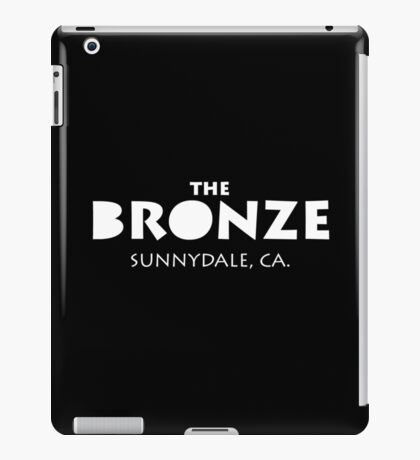 The Bronze – Buffy the Vampire Slayer, Sunnydale iPad Case/Skin
