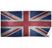 United Kingdom Flag Grunge Poster