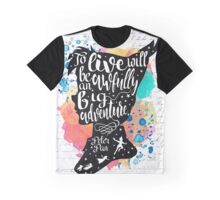 Peter Pan - To Live Graphic T-Shirt