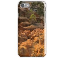 Cliff edge at the valley iPhone Case/Skin