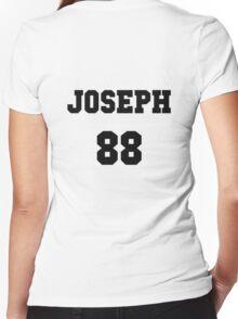 tyler joseph team shirt Women's Fitted V-Neck T-Shirt