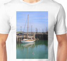At Padstow Harbour, North Cornwall, SW England Unisex T-Shirt