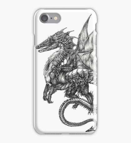dragon tattoo iPhone Case/Skin