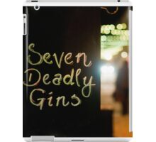 Seven Deadly Gins iPad Case/Skin