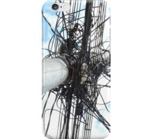 Wires on a Utility Pole iPhone Case/Skin