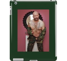Troy - Soldier's Relaxation Time iPad Case/Skin