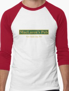 MacLaren's Pub, New York – How I Met Your Mother Men's Baseball ¾ T-Shirt