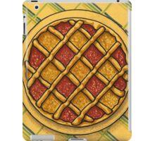 Precision square grid tart iPad Case/Skin