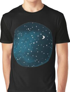 the stars, the moon, they have all been blown out Graphic T-Shirt