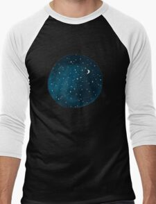 the stars, the moon, they have all been blown out Men's Baseball ¾ T-Shirt