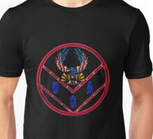 Stars and Strips Bald Eagle Unisex T-Shirt