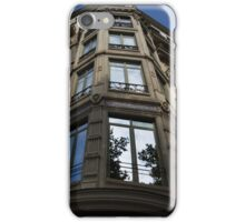 Barcelona's Marvelous Architecture - Passeig de Gracia Facade iPhone Case/Skin