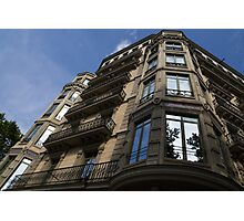 Barcelona's Marvelous Architecture - Passeig de Gracia Facade Photographic Print