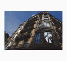 Barcelona's Marvelous Architecture - Passeig de Gracia Facade Kids Tee