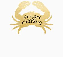 Let's Get Cracking Crab in Gold  Unisex T-Shirt