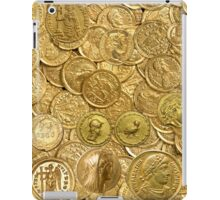 Ancient gold coin collection iPad Case/Skin