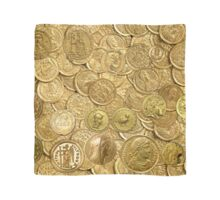 Ancient gold coin collection Scarf