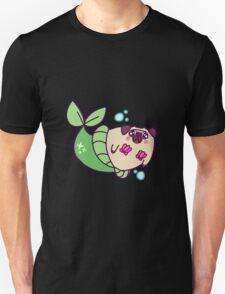 Pug Mermaid Unisex T-Shirt