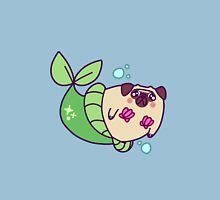 Pug Mermaid Unisex T-Shirt