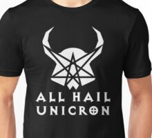 All Hail Unicron - Text Unisex T-Shirt