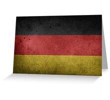 Germany Flag Grunge Greeting Card