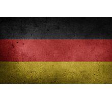Germany Flag Grunge Photographic Print