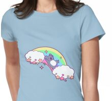Rainbow Koala Womens Fitted T-Shirt