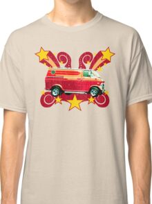 Retro 70s Van (vintage distressed) Classic T-Shirt