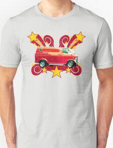Retro 70s Van (vintage distressed) Unisex T-Shirt