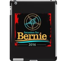 Satanists for Bernie Sanders 2016 iPad Case/Skin