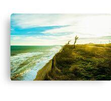 Awesome landscape of seashore Canvas Print