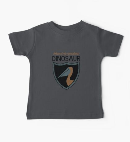 Honest-To-Goodness Dinosaur: Pelican (on light background) Kids Clothes
